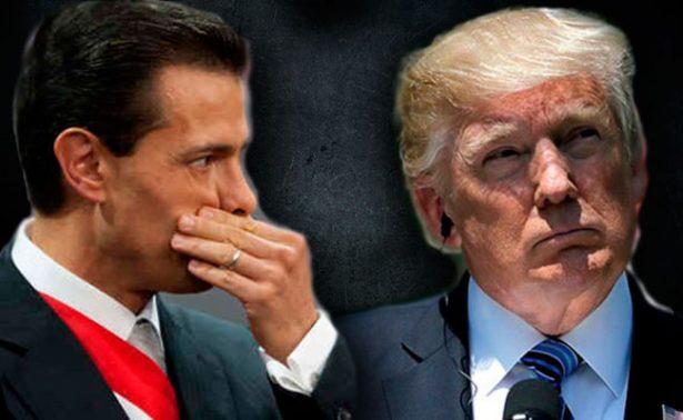 """""""Tú y yo contra el mundo"""" 6 frases destacadas de la conversación EPN-Trump"""