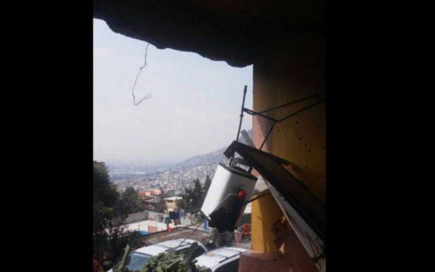 Cinco personas  lesionadas por explosión de un cilindro de gas
