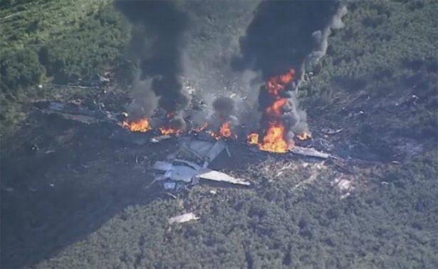 Avión militar se estrella en Mississippi; reportan 16 muertos