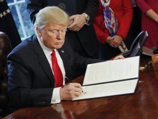 Trump asigna 2600 mdd para iniciar muro en la frontera con México