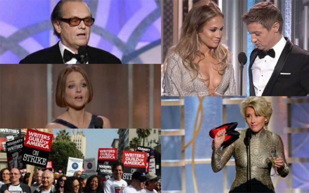 Cinco momentos para recordar de los Globos de Oro