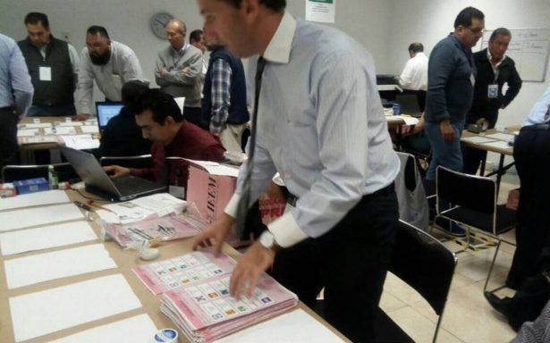Inicia recuento de votos de elección a gobernador en Edomex