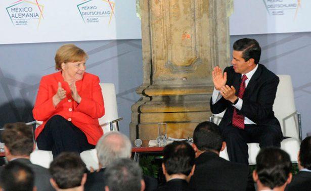 Levantar muros no resuelve problemas migratorios: Merkel