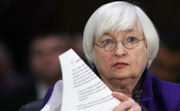 En próxima reunión podría Reserva Federal subir tasa de interés: Janet Yellen