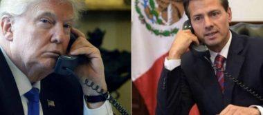 Trump telefonea a Peña Nieto tras sismo
