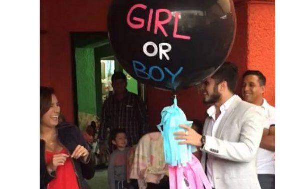 [Video] Paola Espinosa e Iván García revelan el sexo de su primer bebé