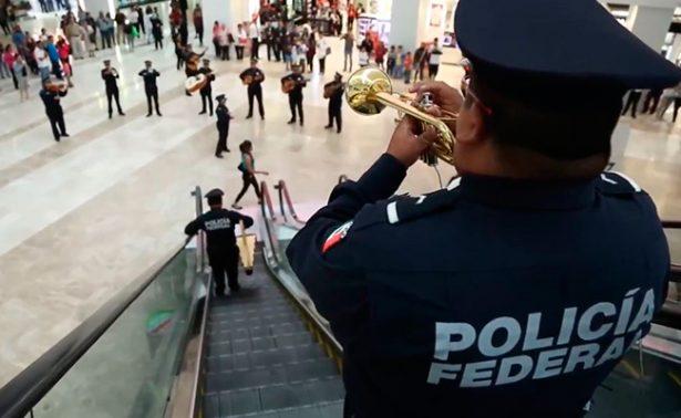 [Video] ¡Viva México! Policía Federal sorprende con flashmob