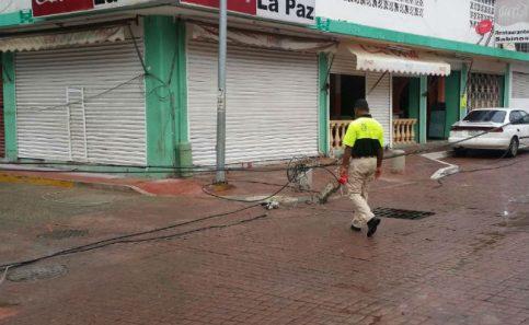 Lluvias afectan suministro de energía de Acapulco
