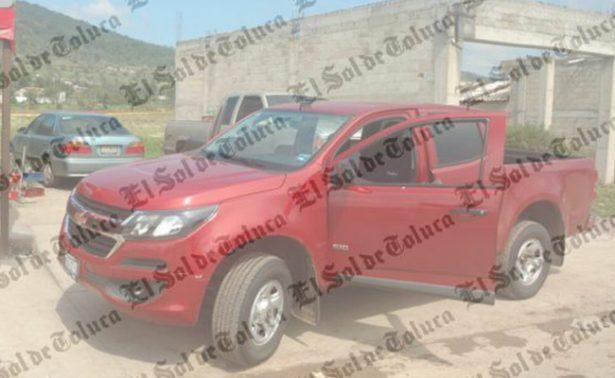 Balacera en Acambay deja un muerto y dos heridos