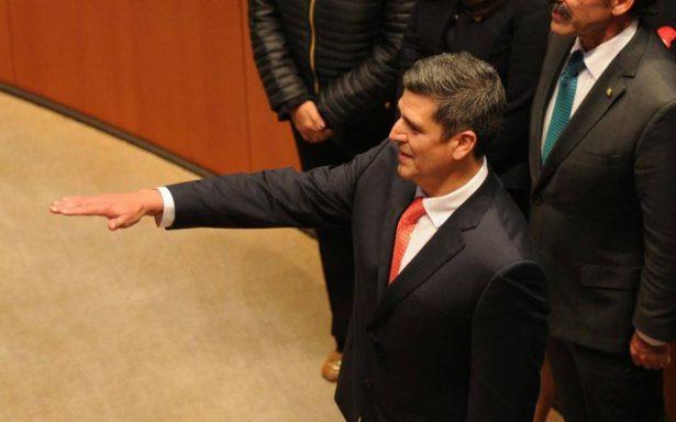 Senado elige a Héctor Marcos Díaz Santana como nuevo titular de la Fepade