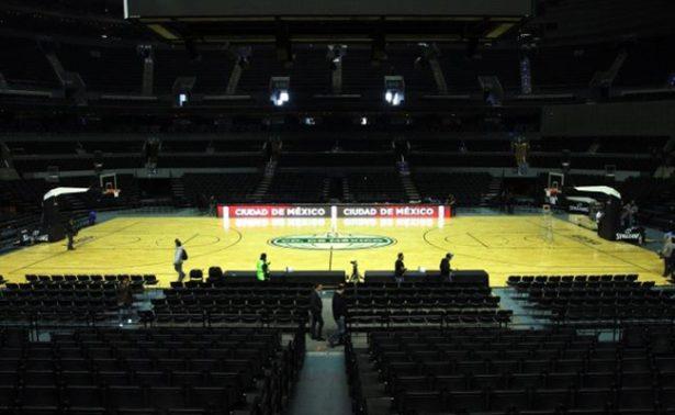 Presentan los dos juegos de la NBA en la Ciudad de México