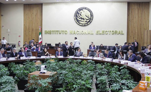 INE incrementa presupuesto a partidos políticos para elecciones de 2018