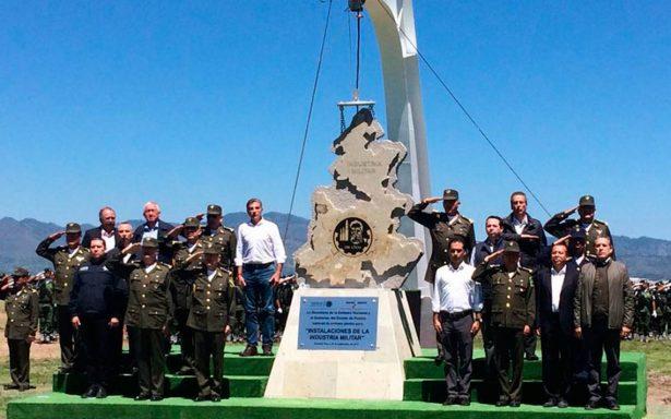 Inicia construcción de La Célula, nuevo complejo industrial militar de Puebla