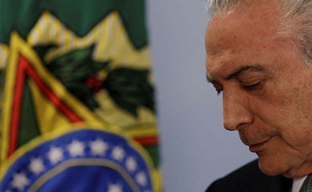 Temer: No renunciaré a presidencia de Brasil; Tribunal lo investigará