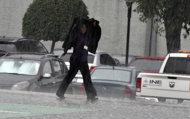 Persiste lluvia en al menos cuatro delegaciones de la CDMX