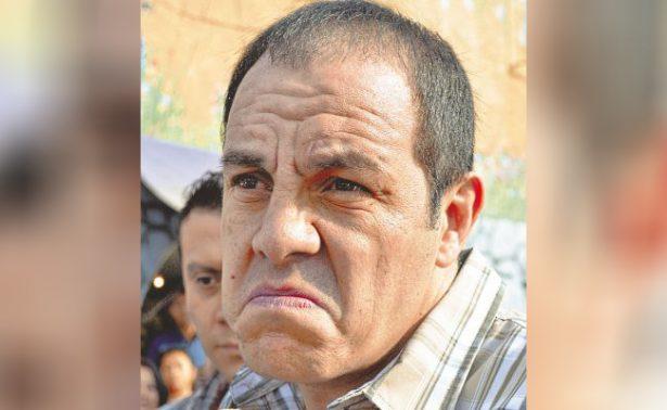 """Cuauhtémoc Blanco quiere ser gobernador y lo mandan """"a la banca"""""""