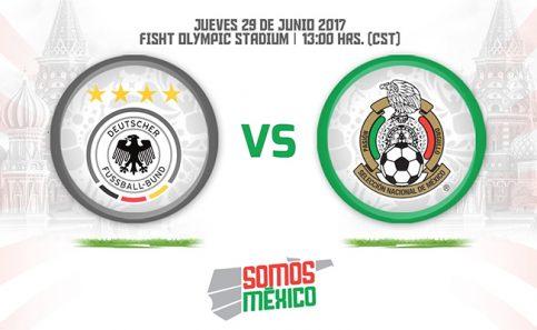 ¡México ya tiene rival! Alemania, reto a vencer en semis