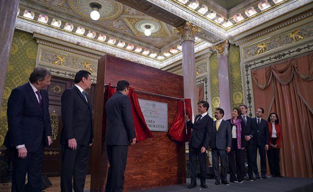La Constitución enmarca los derechos de los ciudadanos del país: Peña Nieto