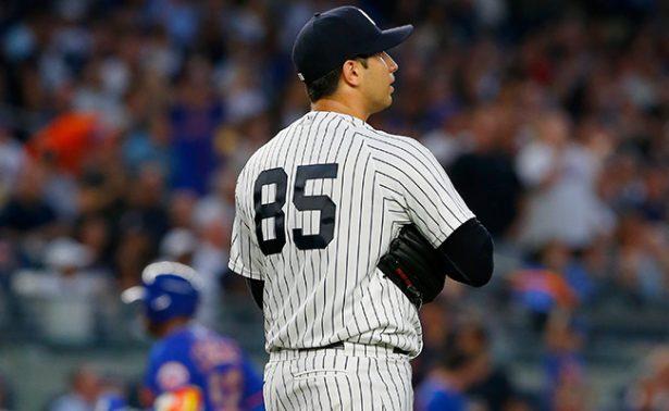 Luis Cessa en la lista de lesionados de los Yanquis de Nueva York