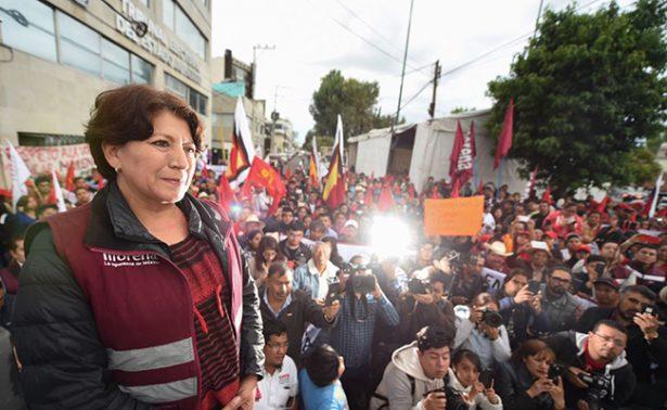 Aunque le den constancia a Del Mazo, aún no es gobernador: Delfina