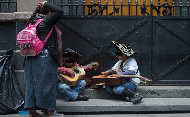 En México 2.5 millones de niños son explotados laboralmente: CNDH