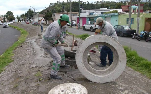 Presenta grietas bóveda del río Verdiguel de Toluca