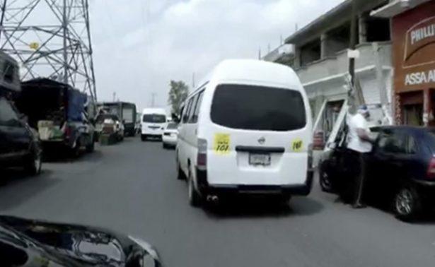 Autoridades investigan violación de menor en combi del Edomex