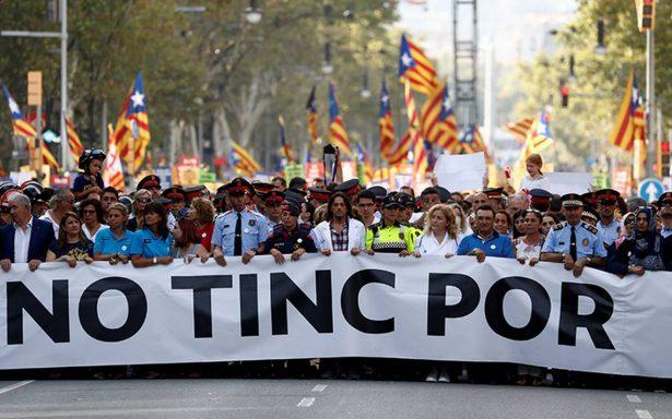 No tengo miedo: Miles marchan en Barcelona contra el terrorismo