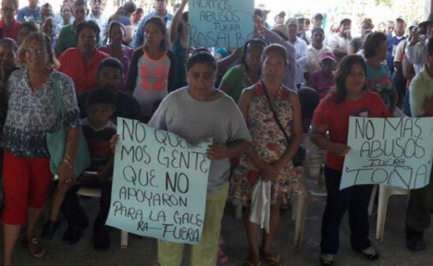 Piden intervención de Yunes en regularización de terrenos