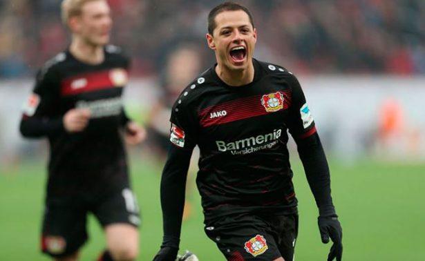 ¡Chicharito podría marcar gol 50 mil del Bundesliga!