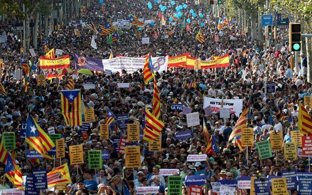 Marcha contra terrorismo