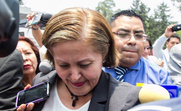 Dictamen de desafuero de Eva Cadena quedaría listo en primera semana de julio