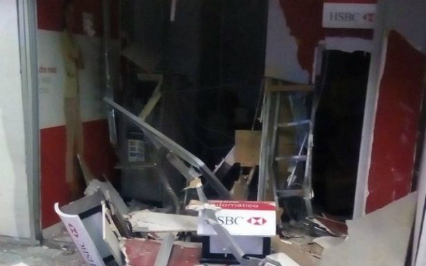 Roban cajero y queman dos en diferentes bancos de Ecatepec