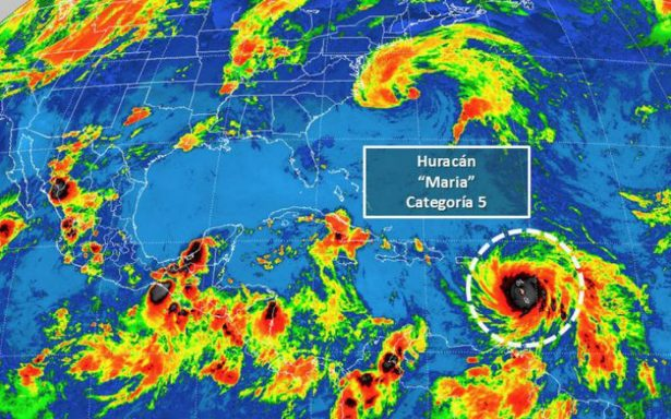 Huracán María deja un muerto y dos desaparecidos en el Caribe; se enfila a Puerto Rico