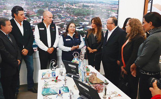 Inauguran exposición artesanal en Corregidora
