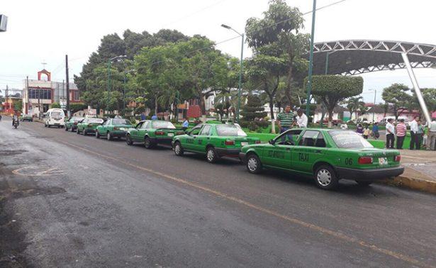 Transportistas en Tapachula denuncian competencia desleal