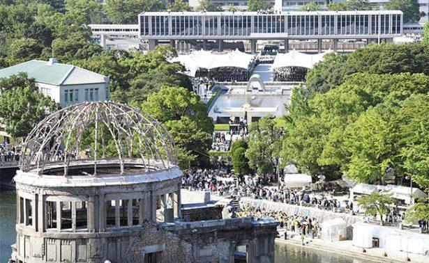 A 72 años, Japón recuerda a las víctimas de la bomba atómica