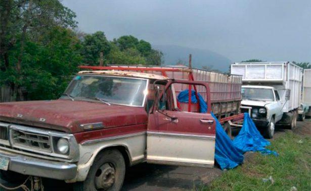 Aseguran seis mil litros de combustible en Veracruz
