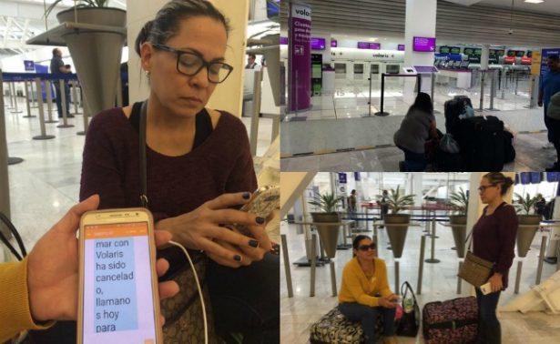 Tormenta en EU deja varados a pasajeros en el AICM