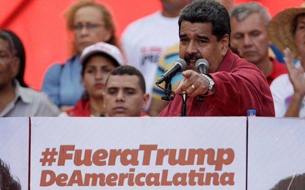 Venezuela despliega tropas y tanques ante amenaza de Trump