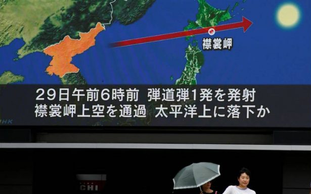 """México reafirma """"enérgica"""" condena al nuevo lanzamiento de misil norcoreano"""