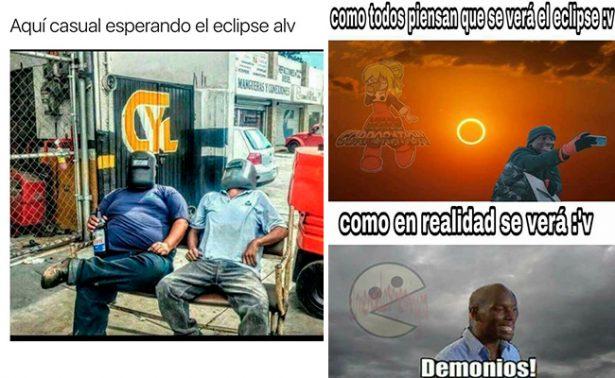 🌒☀ Llegó el #eclipse solar y con él ¡los mejores memes!