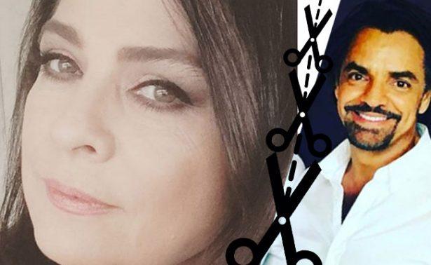 ¿Victoria Ruffo aún no supera a Eugenio Derbez? La critican por borrarlo de foto