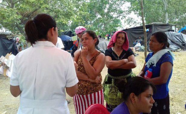Brinda Campeche atención médica a guatemaltecos asentados en la frontera