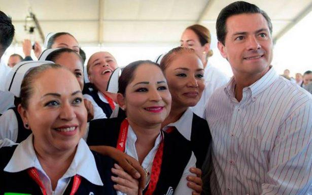 En la recta final se cumplirán todos los compromisos, asegura Peña Nieto