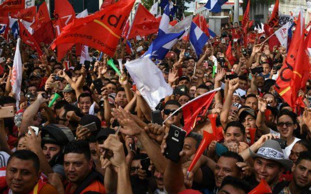 Multitudinaria marcha en Honduras contra reelección del presidente