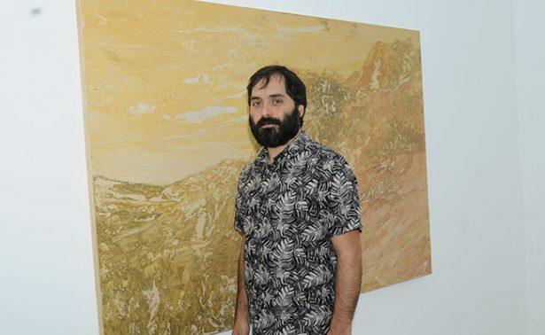 Pedro Vaz reflexiona sobre el paisaje en su obra