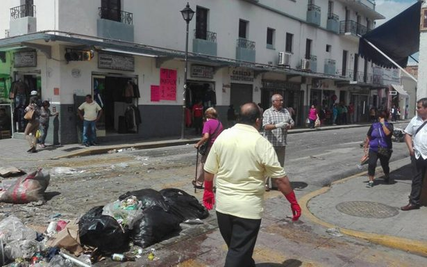 Oaxaca, convertida en basurero