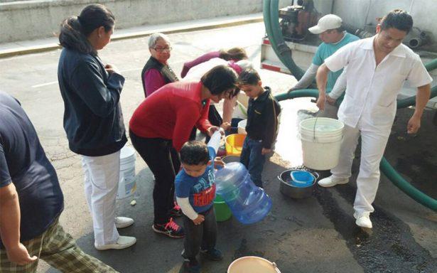 Nuevo corte en el suministro de agua afectará al EdoMex