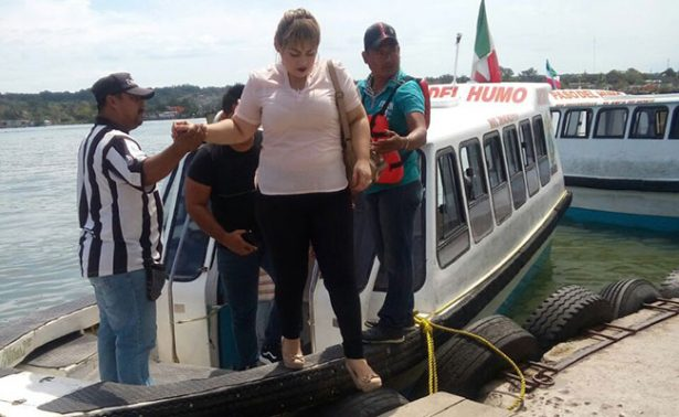 Sancionan a lancheros del Río Pánuco